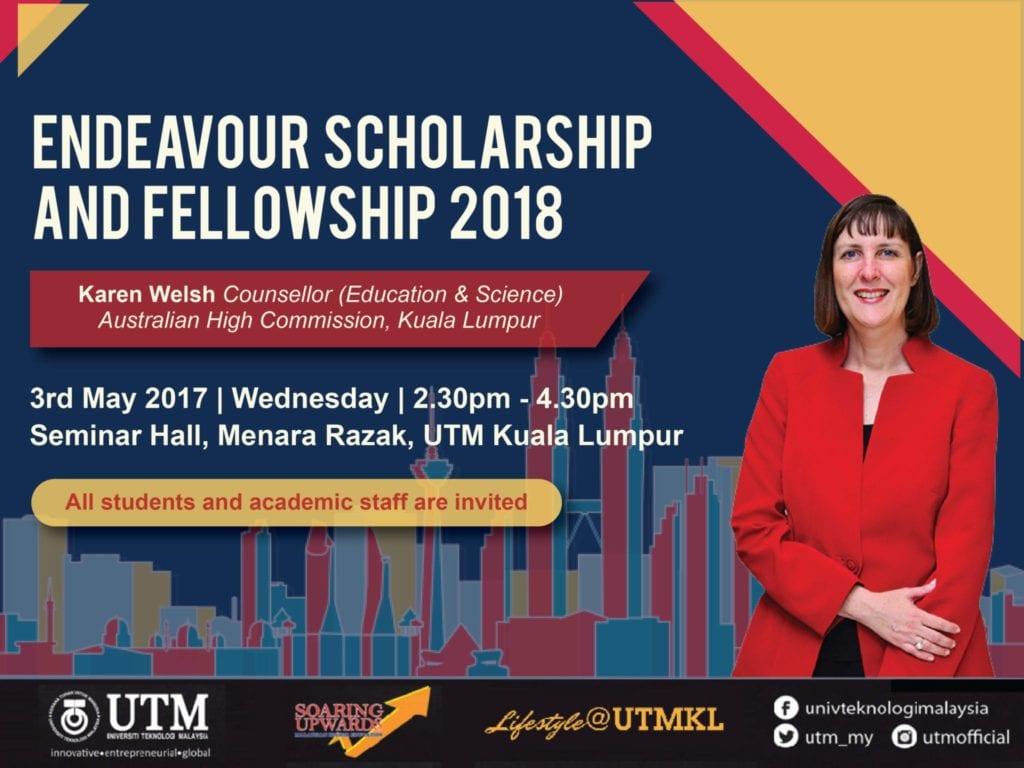 Endeavour Scholarship and Fellowship 2018