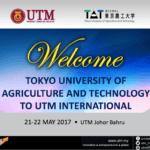 Lawatan rasmi Tokyo University of Agriculture and Technology