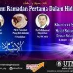 "Program Liga Ilmu Ramadhan ""FORUM: RAMADAN PERTAMA DALAM HIDUPKU"""