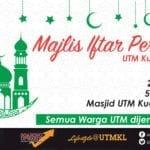 Majlis Iftar Perdana UTM Kuala Lumpur