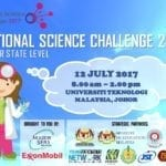 National Science Challenge, Johor State Level