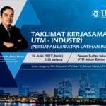 Taklimat kerjasama UTM-Industri