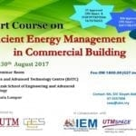 Short Course on Efficient Energy Management in Commercial Building