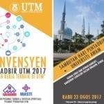 Majlis Perasmian Konvensyen Pentadbir UTM 2017