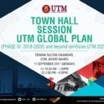 Sesi Town Hall UTM Global Plan (PHASE III: 2018-2020) and beyond (enVision UTM 2025)