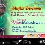 Minggu Mesra Mahasiswa: Majlis bersama Naib Canselor