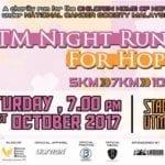 UTM Night Run For hope 2017