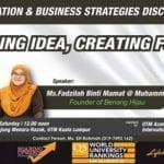 Innovation & Business Strategies Discourse : Building Idea, Creating Future