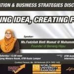 Innovation & Business Strategies Discourse : Building Idea, Creating Future