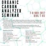 Seminar on Total Organic Carbon (TOC)