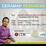 Ceramah Kesihatan oleh Dr. Zubaidi