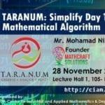 "UTM-CIAM: MATHEMATICS IN INDUSTRY SEMINAR SERIES ""TARANUM – Simplify Day Trading Using Mathematical Algorithm"""