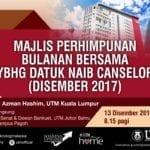 Majlis Perhimpunan Bulanan (Dec 2017)