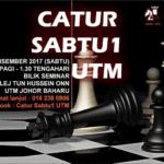 Catur Sabtu1 UTM (Disember 2017)