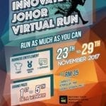 Innovate Johor Virtual Run 2017