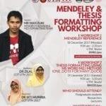 Mendeley & Thesis Formating Workshop