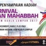 Majlis Penyampaian Hadiah Karnival Sukan Muhabbah UTM KL