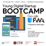 Young Digital Startup Bootcamp Jan 2018