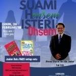 """Seminar Keluarga Jannah :  """"Suami Hensem, Isteri Ohsem"""""""