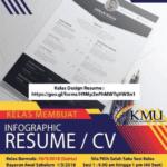Kelas membuat infographic resume/cv