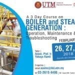 A 3 Day Course on Boiler and Steam Generation : Operation, Maintenance & Troubleshooting