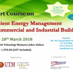 Short Course on Efficient Energy Management in Commercial and Industrial Buildings