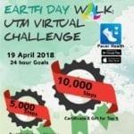 Earth Day Walk: UTM Virtual Challenge