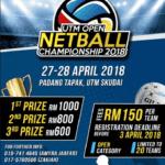 UTM Open Netball Championship 2018
