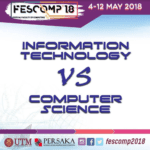 FesComp'18 Sneak Peek : Difference Between Information and Computer Science