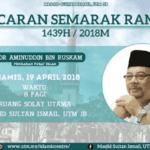 Pelancaran Semarak Ramadan 1439H