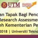 Penilaian tapak bagi pencapaian Malaysia Research Assessment (MyRA) tahun 2017