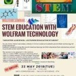 Wolfram Seminar : Stem Education with Wolfram Technology