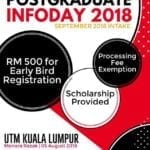UTM Postgraduate Info Day (for Sept 2018 intake)