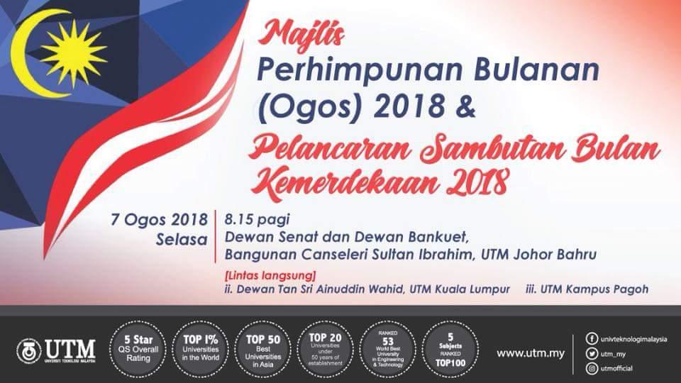 Majlis Perhimpunan Bulanan & Sambutan Bulan Kemerdekaan