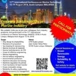 11th International Conference on Marine Technology (MARTEC2018)