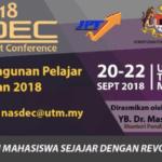 Persidangan Pembangunan Pelajar Peringkat Kebangsaan (NASDEC) 2018