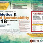 International Conference on Probiotics & Food Sustainability 2018 (ICPFS2018)