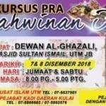 Kursus Pra Perkahwinan Islam