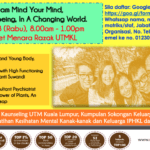 Program Mind Your Mind, Mind Your Well being, In A Changing World