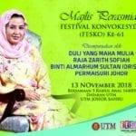 Majlis Perasmian Festival Konvokesyen ke-61