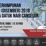Majlis Perhimpunan Bulanan (Disember) 2018 bersama Datuk NC