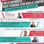 Karnival Membaca & Hari terbuka UTM Kuala Lumpur