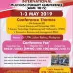 3rd Asia International Multidisciplinary Conference (AIMC 2019)