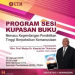 Program Sesi Kupasan Buku oleh YBrs. Prof. Madya Dr. Kassim bin Thukiman