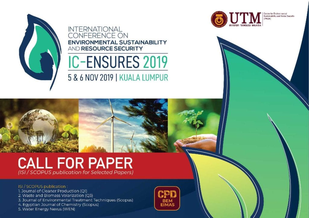 International Conference on Environmental Sustainability & Resource