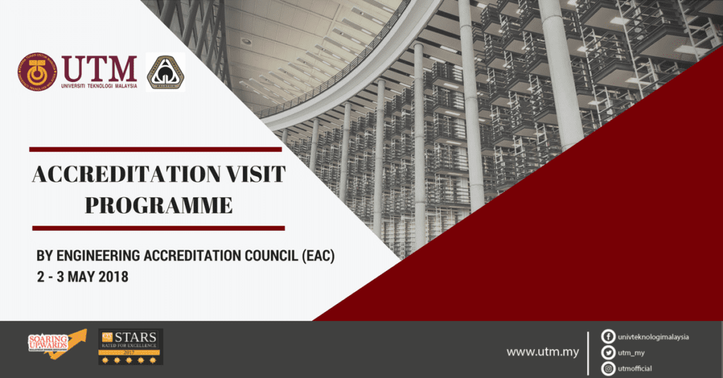 ACCREDITATION VISIT PROGRAMME BY ENGINEERING ACCREDITATION COUNCIL (EAC)
