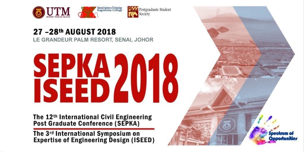 Civil Engineering Postgrad Conference SEPKA ISEED 2018