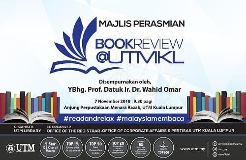 Majlis Perasmian Book Review @UTMKL