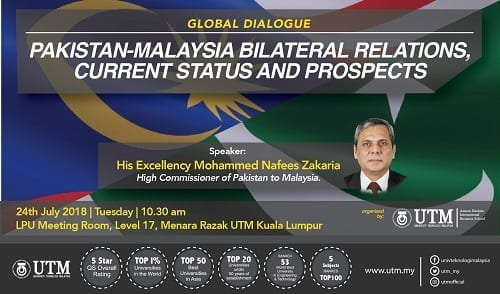 Global Dialogue:Pakistan-Malaysia Bilateral Relations, Current Status and Prospects