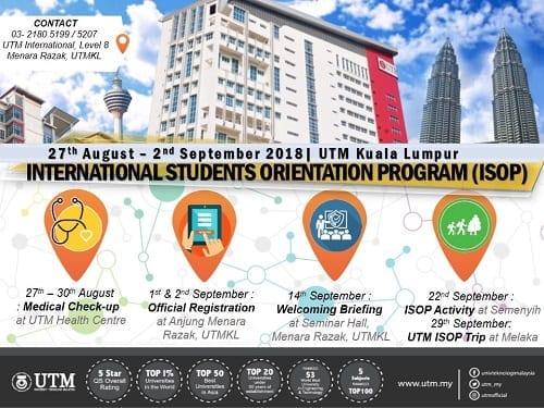 International Student Orientation Program (ISOP)